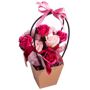 Gentuta in tonuri de roz